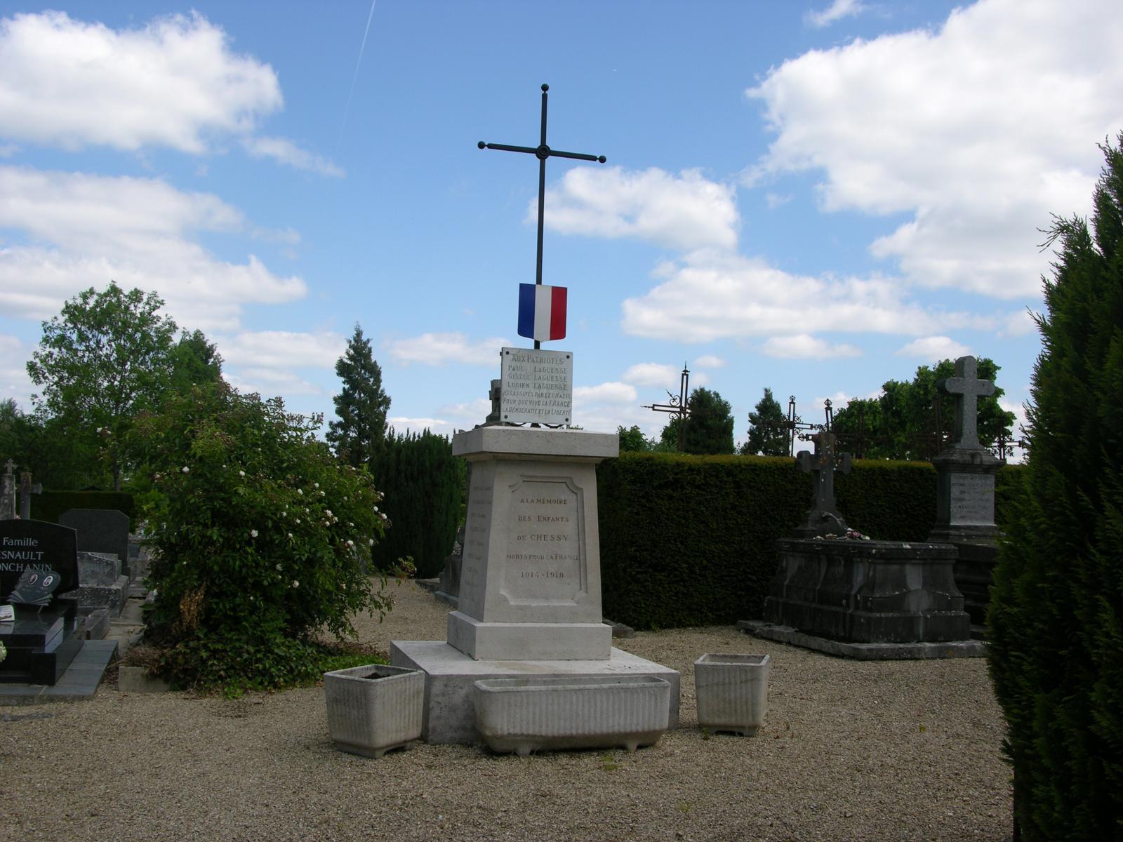 Monument chessy les monuments aux morts - La table de chessy ...