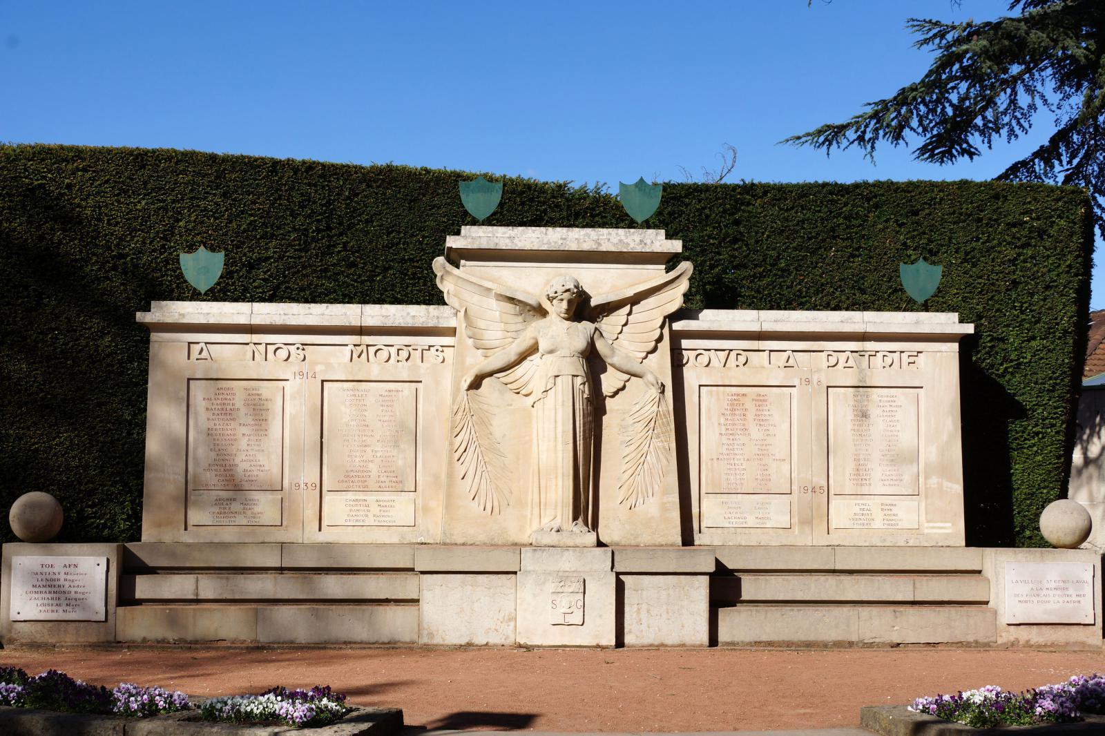 monument saint genis laval les monuments aux morts. Black Bedroom Furniture Sets. Home Design Ideas