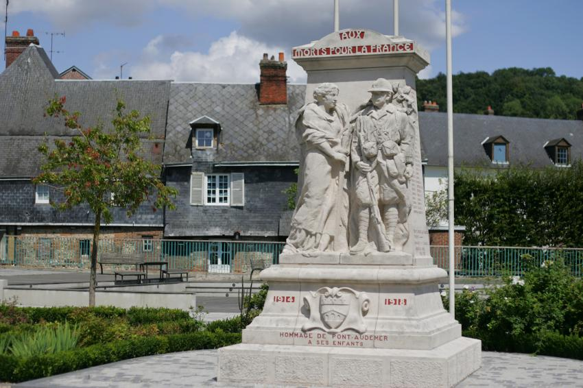 Monument pont audemer les monuments aux morts - Le royal pont audemer ...