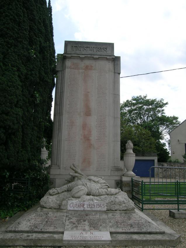 Monument ch teau thierry les monuments aux morts - Bureau 02 chateau thierry ...