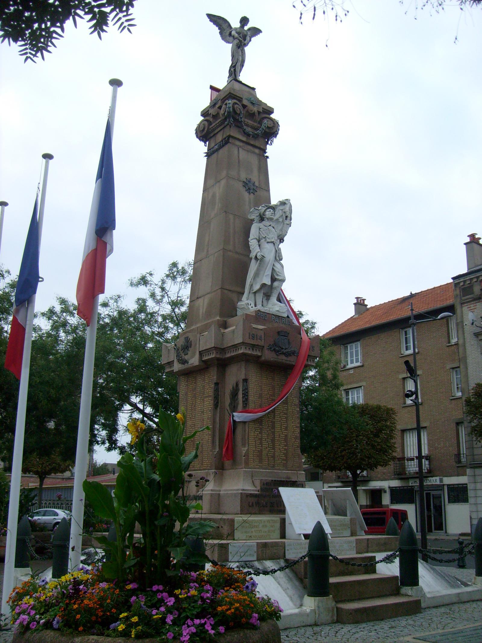 Monument vitry sur seine les monuments aux morts - Piscine avec pente douce vitry sur seine ...