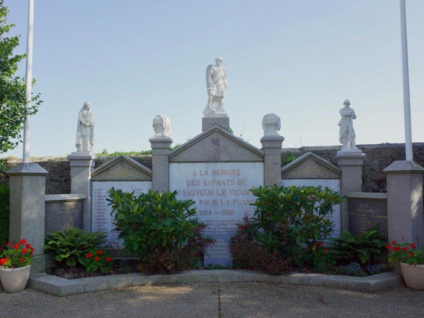 Monument saint sauveur le vicomte les monuments aux morts - Piscine saint sauveur le vicomte ...