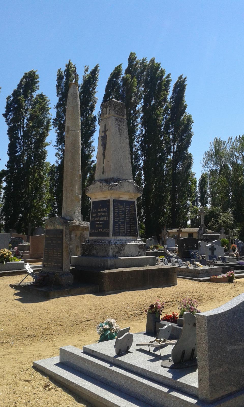 Monument à Morannes | Les monuments aux morts