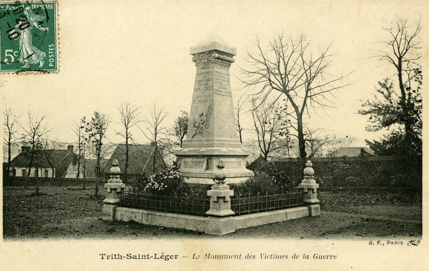 Monument trith saint l ger les monuments aux morts for Piscine trith saint leger